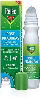 Relec Roll On Post-Picaduras de Insectos y Plantas | Alivia el picor, refresca y calma la piel | Para niños y adultos | Con efecto refrescante | 15ml