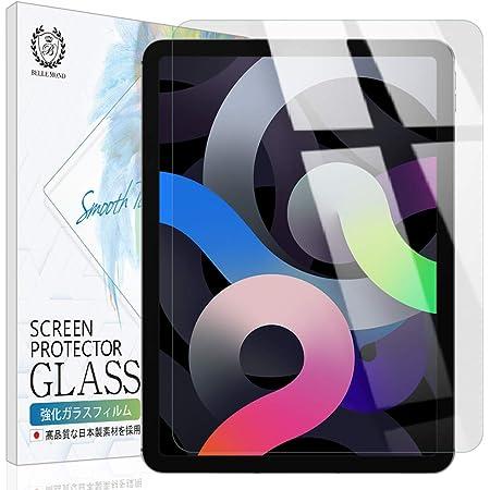 ベルモンド iPad Air 10.9 (第4世代 2020) 透明 ガラスフィルム 高透過 硬度9H 指紋防止 気泡防止 強化ガラス 保護フィルム BELLEMOND iPad Air 10.9 GCL B0235