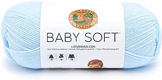 Lion Brand Yarn 920-105 Babysoft Yarn, Little Boy Blue