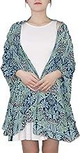 William Morris Bluebell Columbine Scarves Women Lightweight Fashion Fall Winter Shawl Wraps