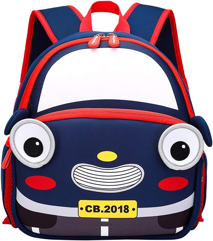 Liabb Kinderrucksack mit Brustgurt für Jungen und Mdchen im Kindergarten oder Kindergarten,Blau,27  25  8CM
