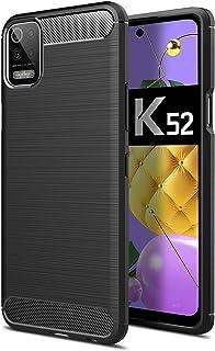 SHUNDA Capa para celular LG K52 TPU macio ultra fino antiderrapante à prova de choque capa protetora para LG K52 de 6,5 po...
