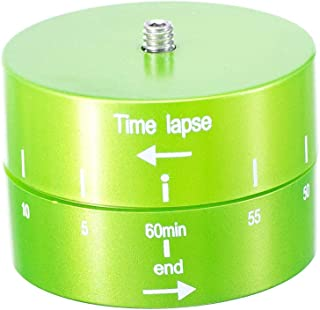 DishyKooker Heavy Duty Camera Delayer TRF/or IP/od Head 360 Degree Panoramic Shooting 60mins Time Delay Photography Accessories for DSLR Camera Camcorder Green