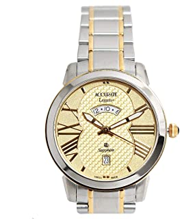 Casual Watch for Men by Accurate, Multi Color, Round, AMQ1738