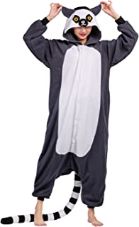 21a1eb63f98b8 Animaux Onesie Pyjama Cosplay Party Costume Adulte Unisexe Kigurumi