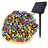 Solar lamp for Home Hardoll String Lights 200 LED Decorative Lighting for Garden, Home, Patio, Lawn, Party,Holiday,Indoor,Outdoor, Party Decorations Waterproof(72FT-Multi Color)