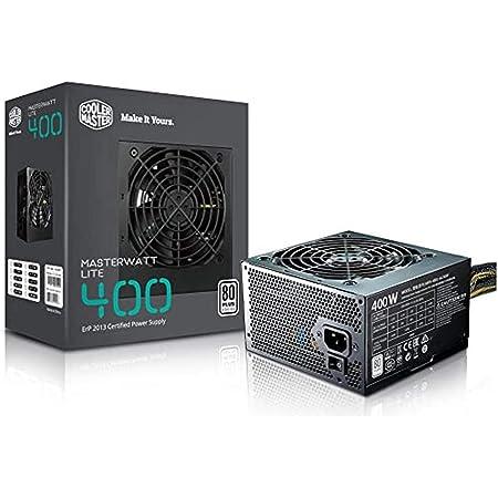 Cooler Master Masterwatt Lite 400 230v Pc Netzteil Computer Zubehör