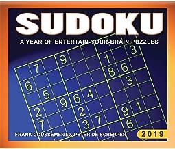 2019 Sudoku Desk Calendar, by Calendar Ink