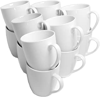 white cup set