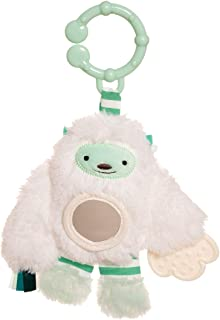Manhattan Toy Beastie Boo Boomer Baby Teether & Chime Stroller Toy