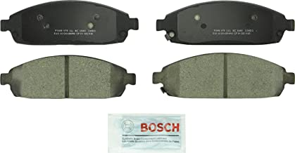 Bosch BC1080 QuietCast Premium Ceramic Disc Brake Pad Set For: Jeep Commander, Grand Cherokee, Front