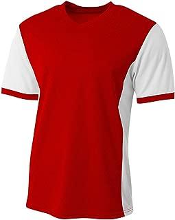A4 Sportswear Soccer Premier 2-Color Moisture Wicking Breathable Mesh Jersey
