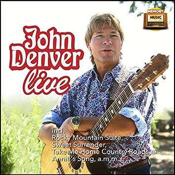 John Denver, Live