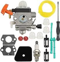 Wellsking C1Q-S174 Carburetor for STIHL FS87 FS90 FS100 FS110 FS130 HL90 HL95 HT100 HT101 KM90 SP90 Carb Trimmer C1Q-S131 4180-120-0610 4180-120-0611 with Tune Up Kits