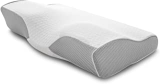 令和元年新睡眠新体験 Dore 低反発 安眠 健康枕 肩こり対策 頚椎サポート 仰向け寝 横向き寝対応 家族へのプレゼント1年保証 サイズ50×30cm Dore—classic—安眠枕 (ホワイト)