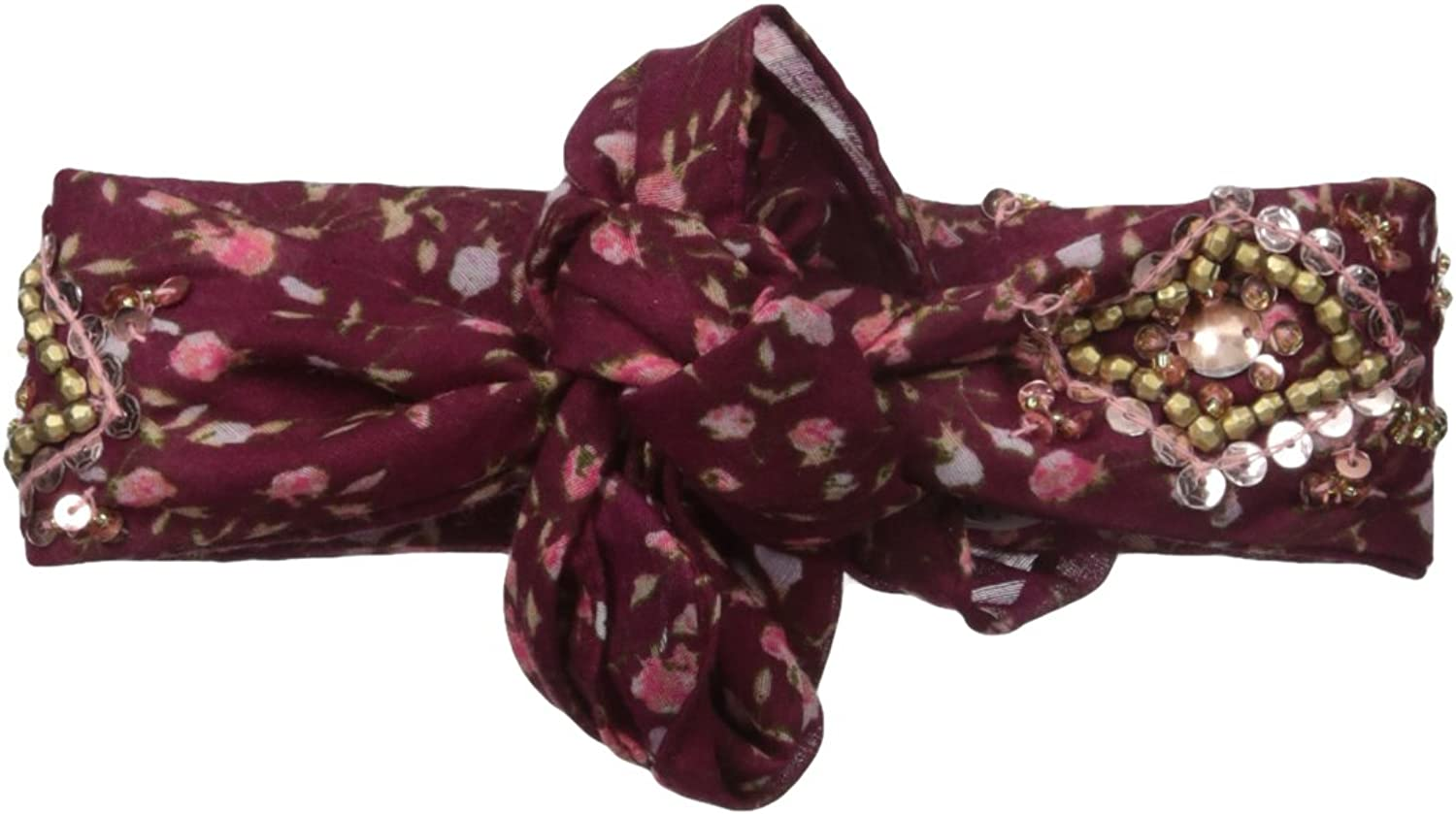 BCBGeneration womens Ditzy Blossom Rolled Necktie Scarf Scarve