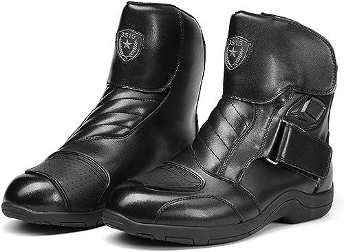 ZHRUI botas Militares para hombres botas de Confort Transpirables duraderas y Antideslizantes Impermeables (Color   negro, tamaño   EU 42)