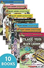 Black Lagoon Book Set 1-10;Class Trip,Talent Show,Class Election,Science Fair,Halloween Party,Field Day,School Carnival,Valentine's Day,Christmas Party,Little League Team
