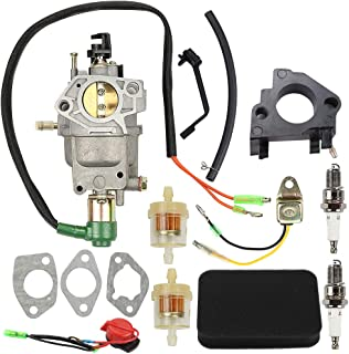 Allong 0G8442A111 Carburetor with Air Filter Tune Up Kit for Generac GP5000 GP5500 GP6500 GP6500E 5KW 5.5KW 6.5KW 389cc Generator