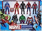 Hasbro Marvel Ultimate Protectors Action Figure 8-Pack - Pack De 8 Protectores Supremos - Hulk, Iron...