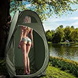 Pop Up Privacy Tent Pull Out Toilet, Outdoor Dressing Fitting Room Privacy Shelter Tent, Changing Room Shower Tent Rain Shelter Portable Indoor Outdoor Pull Out Tent Privacy Tent【US Stock】