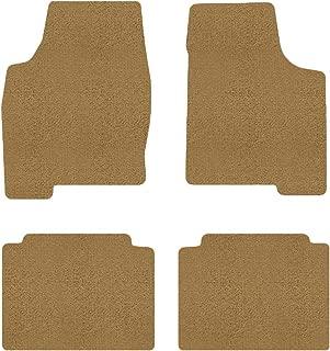 Brightt (MAT-MJB-598-ULT) 4 Pc Car Floor Mat Set - Almond Premium Carpet - Compatible With 1986-1990 944 (1986 1987 1988 1989 1990   86 87 88 89 90)