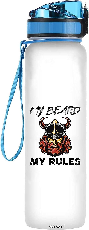 My Beard Rules Max 71% OFF Memphis Mall Water Bottle Tracker