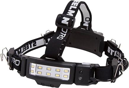 STEELMAN PRO 78834 250-Lumen LED Slim Profile Rechargeable Motion Activated Hands-free Headlamp