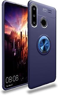 جراب FanTing لهاتف Huawei Y6p، 360 درجة قابل للتعديل، متوافق مع حامل السيارة المغناطيسي، غطاء مقاوم للصدمات لهاتف Huawei Y...