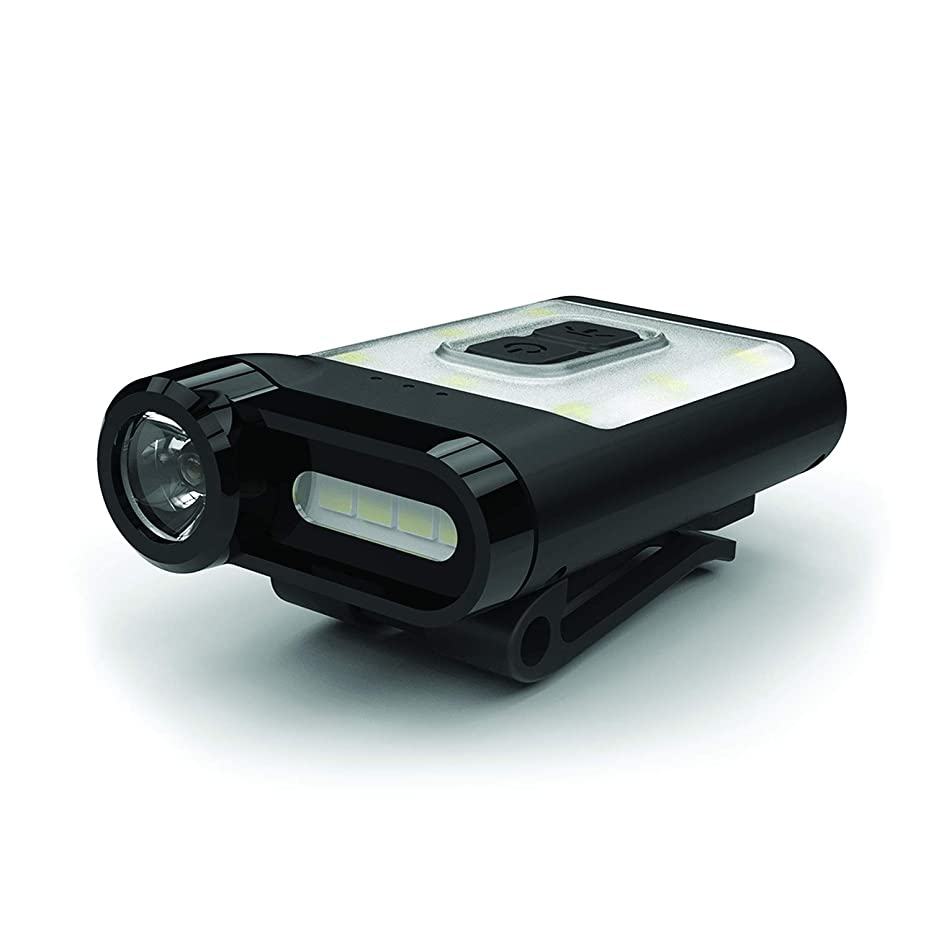 選挙腸許容できるPrism(プリズム)LEDランタン CLAYMORE CapOn 65A 充電式?3照射モード?無段階調光 カラー:ブラック CLP-310BK