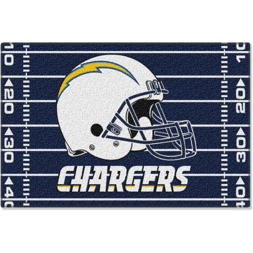 San Diego Chargers NFL Tufted Rug (20x30 )