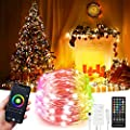 32.8ft LED Indoor String Lights, Music Sync Color Changing Dreamcolor LED Strip Lights Kit with, WiFi Wireless Smart Light Strip Works with Alexa Google Assistant App Control Room,Christmas, Parties