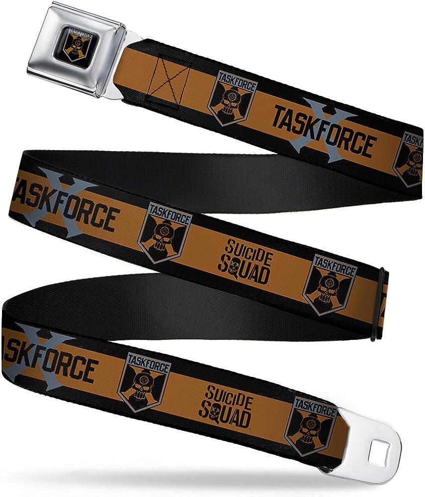 Buckle-Down Boys Seatbelt Belt Suicide Squad Wdc036