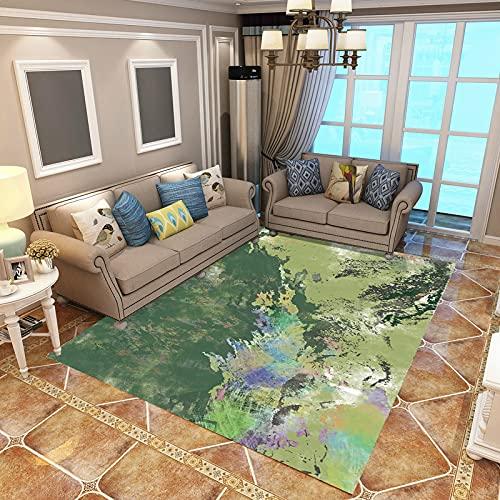 ZAZN Sala De Estar Alfombra Sofá Mesa De Centro Cojín Habitación Nórdica Dormitorio Simple Moderno Patrón Chino Rectángulo