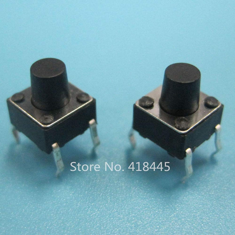 Tact Switch 6 6x6x6 260gf 2.5N DIP 1000PCS TS6610FDRH Push Button Switch RoHS High Quality