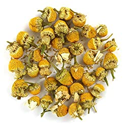 Organic Chamomile Flowers Egyptian (Camomile) Premium Loose Leaf Herbal Tea - Chiswick Tea Co - 500g (2 x 250g bags)