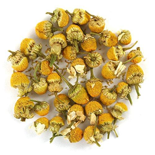 Organic Chamomile Flowers Egyptian (Camomile) Premium Loose Leaf Herbal Tea - Chiswick Tea Co - 100g
