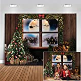 Mocsicka Christmas Window Backdrop for Photography...