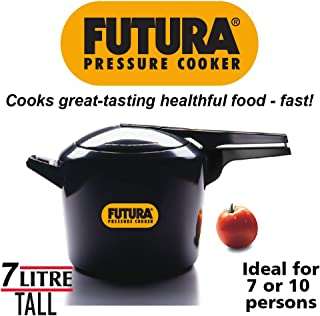 Hawkins HF7L Futura Hard Anodised Pressure Cooker, 7-Liter