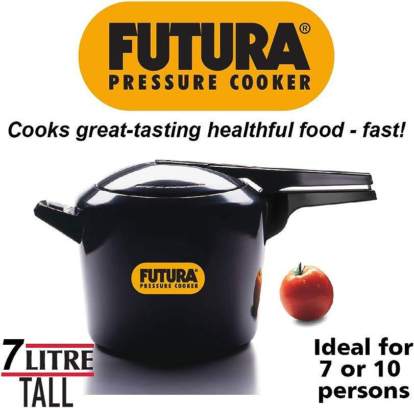 Hawkins HF7L Futura Hard Anodised Pressure Cooker 7 Liter