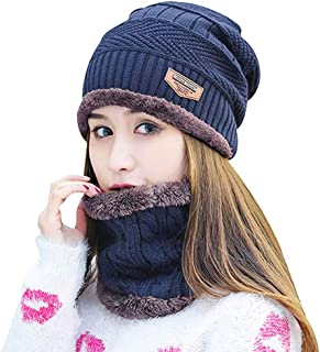 985a3929440 HINDAWI Womens Slouchy Beanie Winter Hat Knit Warm Snow Ski Skull Cap