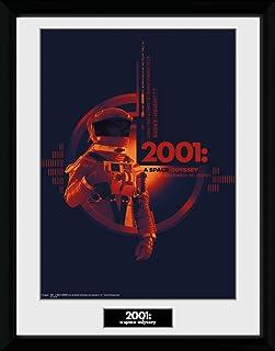 GB eye LTD, 2001 A Space Odyssey, Graphic, Framed Print 30x40cm, Wood, Various, 52 x 44 x 3 cm
