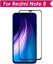 Doubledicestore Full Coverage Glass 6D/11D Edge to Edge Tempered Glass for redmi Note 8 (Black)