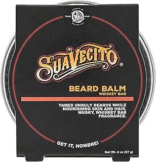 Suavecito Whiskey Bar Beard Balm