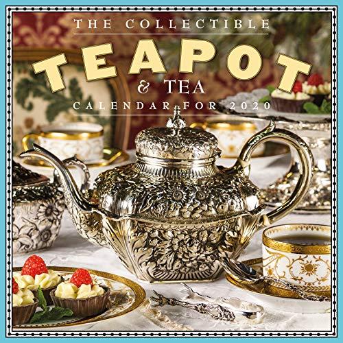 Collectible Teapot & Tea Wall Calendar 2020