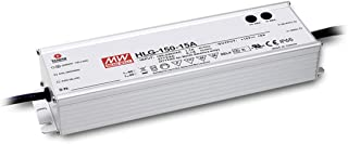 MEAN WELL HLG-150H-24A 150 W Single Output 6.3 A 24 Vdc Output Max IP65 Switching Power Supply - 1 item(s)