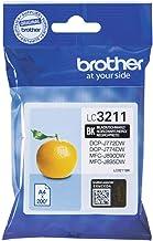 Brother LC3211BK Black - 200 Pages DCPJ772DW / DCPJ774DW, LC3211BK (DCPJ772DW / DCPJ774DW)
