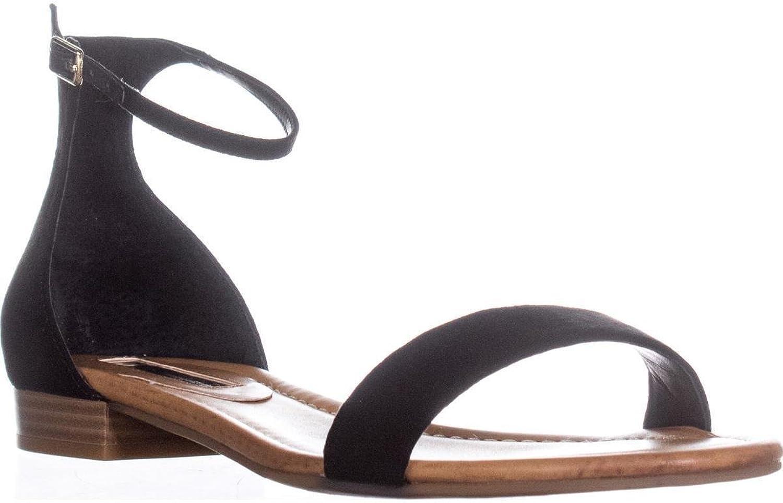 INC International Concepts Womens Yaffa Fabric Open Toe Casual Flat Sandals