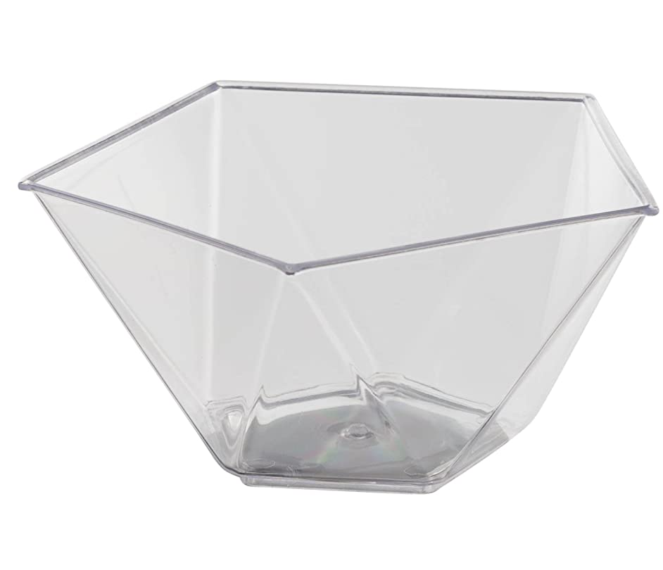 Clear pentagon Miniature 20 Count