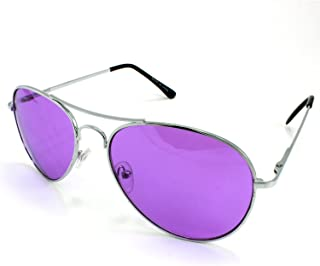 b460c645b32 Enimay Mens The Hangover Bradley Cooper Colored Aviator Poker Sunglasses UV  400